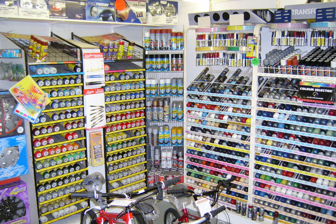 Discount motor spares ltd the home of the best car parts for Car paint shop prices